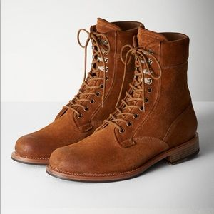 Rag & Bone Spencer Suede Military Boot